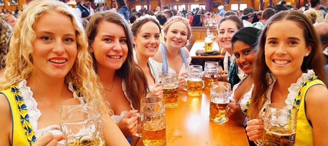 Đức huy động Cảnh sát bảo vệ lễ hội bia lớn nhất thế giới - 1