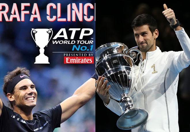 Nadal lên số 1 thế giới ngày 4/11: Djokovic có 14 ngày để lật đổ ngoạn mục - 1