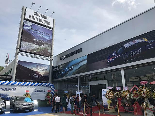 Subaru khai trương thêm cùng lúc 3 đại lý ủy quyền tại Việt Nam