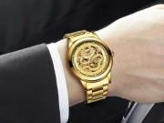 Đồng hồ Rồng Vàng nâng tầm doanh nhân thành đạt