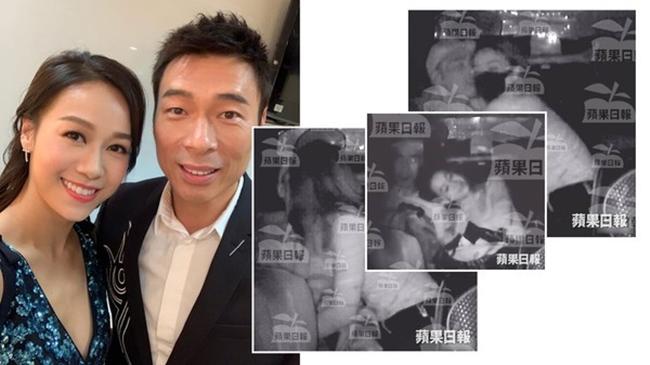 Giữa tháng 4.2019, làng giải trí Hong Kong xôn xao khi clip Huỳnh Tâm Dĩnh ôm hôn thân mật Hứa Chí An trên xe taxi.