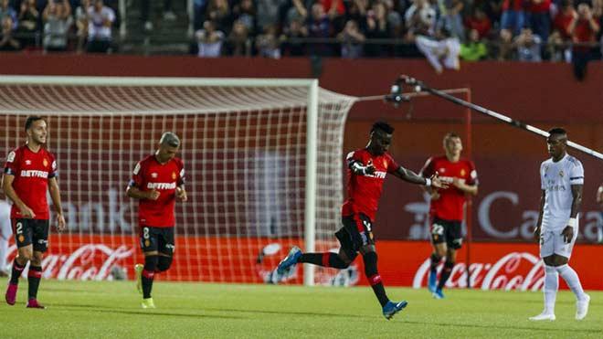 Video highlight trận Mallorca - Real Madrid: Đòn phủ đầu phút 7, đen đủi xà ngang - 1
