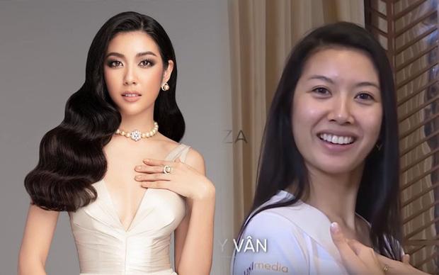 Giật mình với mặt mộc của Á hậu Thúy Vân và thí sinh Hoa hậu Hoàn vũ - 1