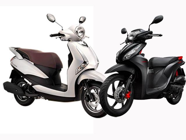 Nên mua Yamaha Latte hay Honda Vision tặng nửa kia ngày 20/10?