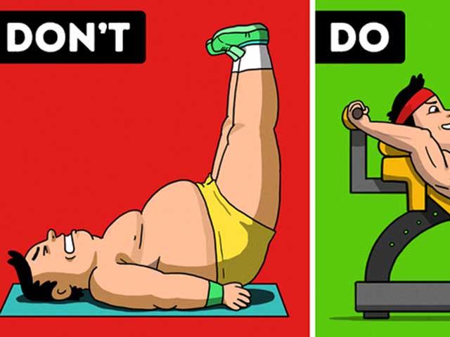 10 lỗi sai khi tập khiến bạn chẳng giảm cân nổi