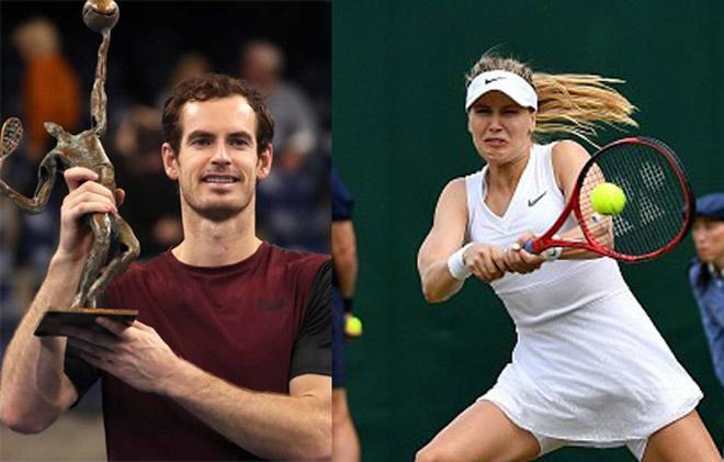 Bảng xếp hạng tennis 21/10: Murray tiến thần tốc, Bouchard rơi không thấy đáy - 1