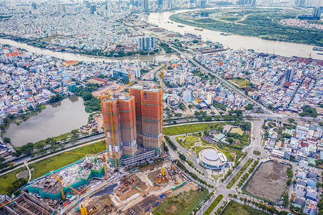 Eco Green Saigon mở bán đợt cuối tòa HR1 và M2 - 1
