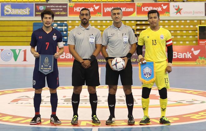 Giải Futsal HDBank Vô địch Đông Nam Á 2019: Thái Lan phô diễn sức mạnh - 1