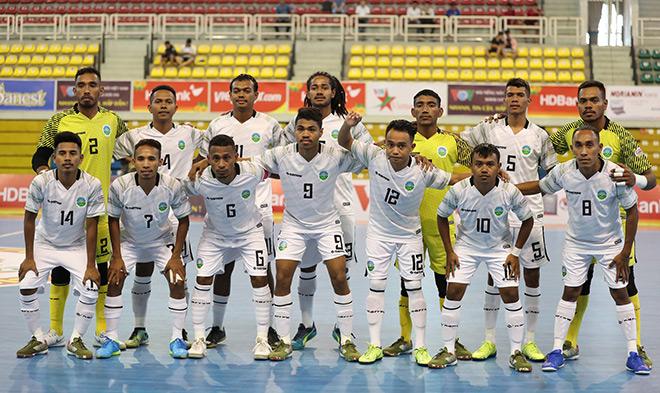 Giải futsal HDBank Đông Nam Á 2019: Myanmar dễ dàng hạ Timor Leste - 1