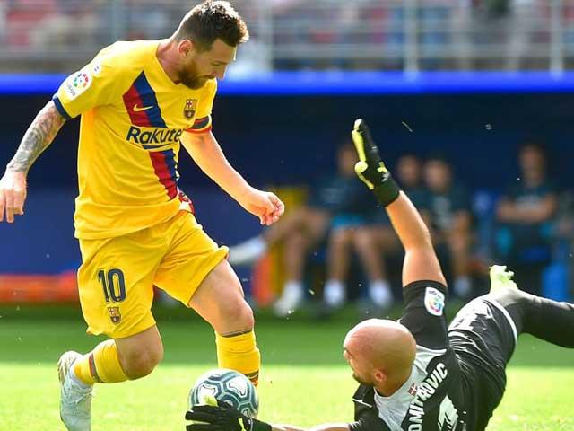 """Điểm nóng vòng 9 La Liga: Barca và Real đổi ngôi, ngỡ ngàng """"ngựa ô"""" đua top 3 - 1"""