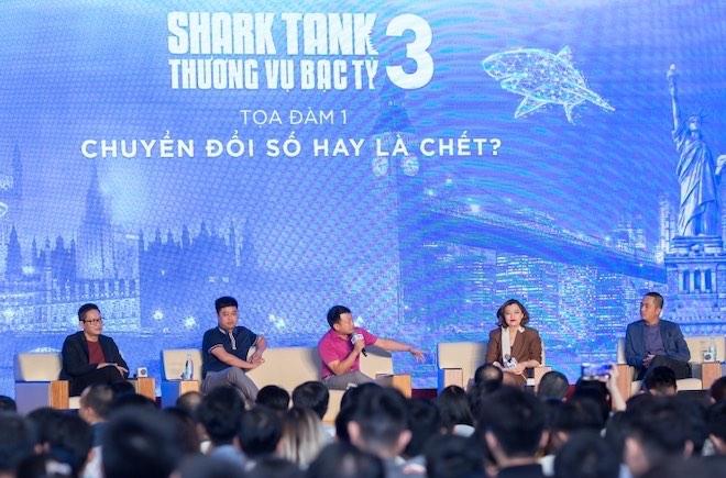 """Shark Bình nói về """"tri kỷ"""" trong tọa đàm """"Chuyển đổi số hay là chết?"""" - 1"""