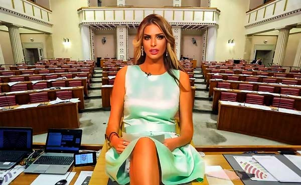 Ứng viên Tổng thống Croatia gây tranh cãi vì quá khứ người mẫu - 1