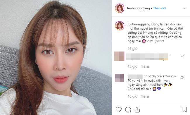 """Chia sẻ ẩn ý của Lưu Hương Giang giữa """"tâm bão"""" ly hôn khiến fan lo lắng - 1"""