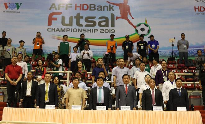 Khai mạc Giải Futsal HDBank Vô địch Đông Nam Á 2019 và trận bóng gay cấn Việt Nam – Australia - 1