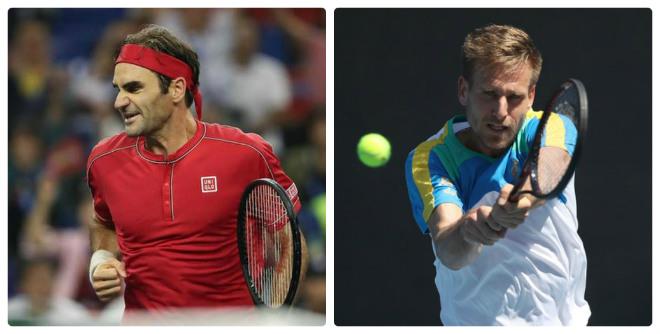 """Federer - Gojowczyk: """"Nhà vua"""" ra quân, 53 phút choáng váng (Vòng 1 Basel Open) - 1"""