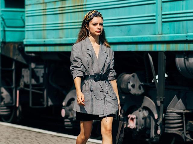 15 cách mặc blazer đi làm mùa thu đông
