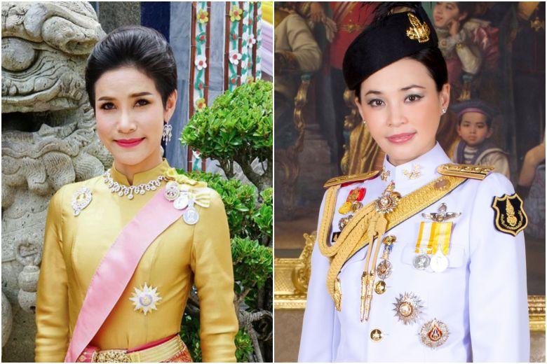 Hai người phụ nữ sau lưng nhà vua Thái Lan: Tương đồng và khác biệt - 1