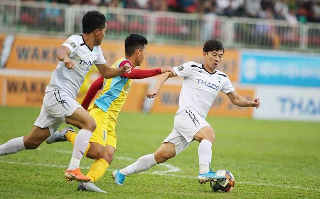 Video highlight trận HAGL - Khánh Hòa: Cú đúp thần sầu, kết cục cay đắng (Vòng 26 V-League) - 1