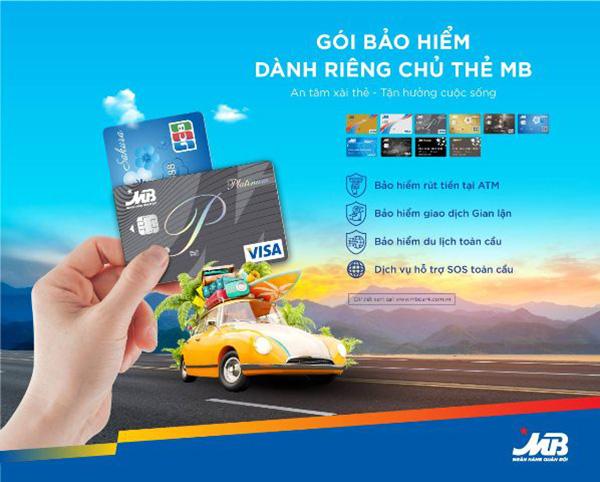 Chủ thẻ MB được bảo hiểm khi gặp rủi ro trong quá trình giao dịch thẻ - 1