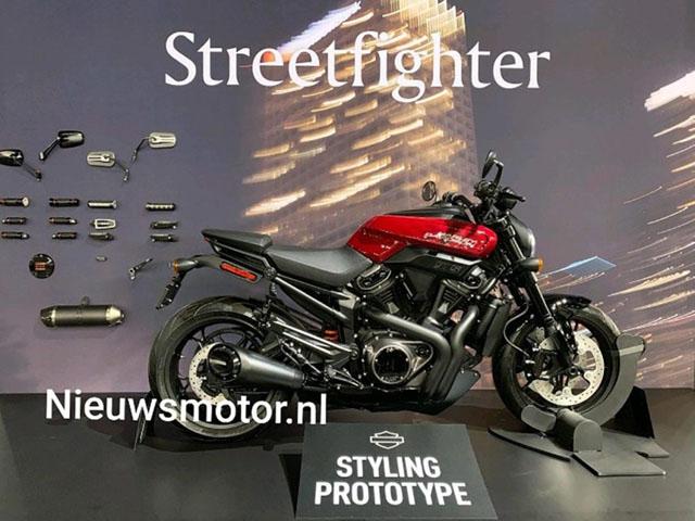 """StreetFighter 975 sẽ """"lột xác"""" khỏi phong cách Harley-Davidson cũ kỹ"""