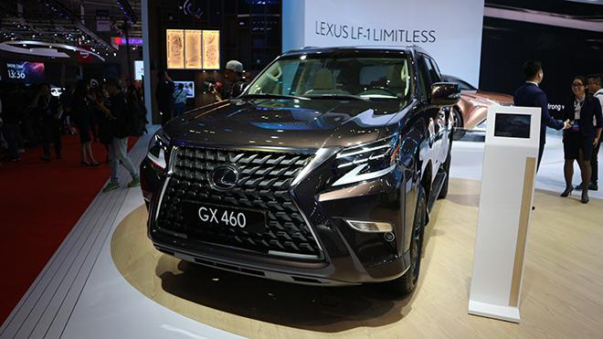 Lexus GX460 2020 facelift mới ra mắt tại Triển lãm Ô tô Việt Nam 2019 - 1