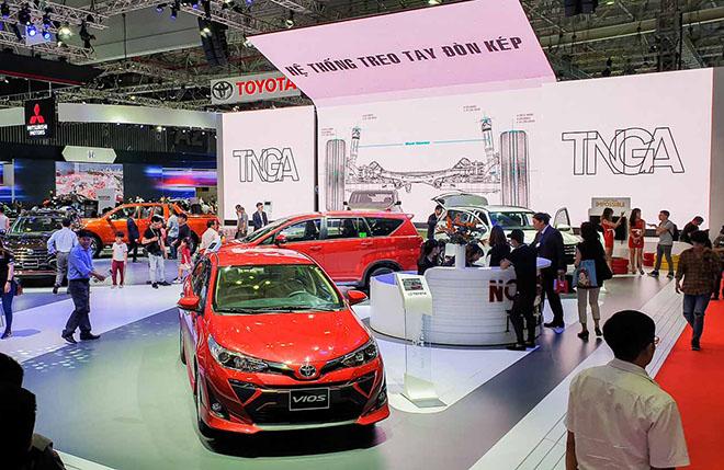 """Toyota Việt Nam truyền tải thông điệp """"Cuộc sống thật chất lượng"""" tại VMS 2019 - 1"""