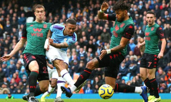 Video highlight trận Man City - Aston Villa: 3 bàn thắng mãn nhãn & thẻ đỏ nghiệt ngã - 1