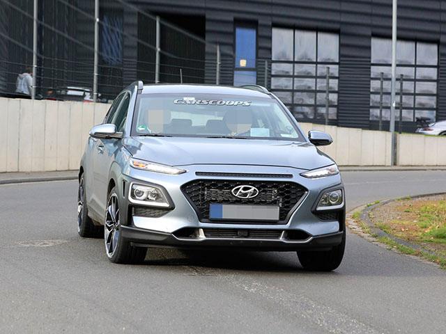 Hyundai Kona N 2020 lộ ảnh chạy thử không ngụy trang