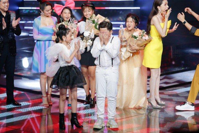 Bị MC đọc nhầm kết quả trên sóng trực tiếp, thí sinh hụt giải quán quân The Voice Kids lên tiếng - 1