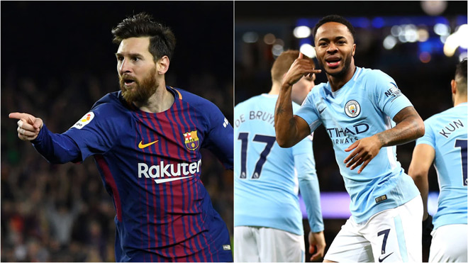 Sterling scored with Messi, worthy of '34 hunter marksman' '34 from Pep - 1