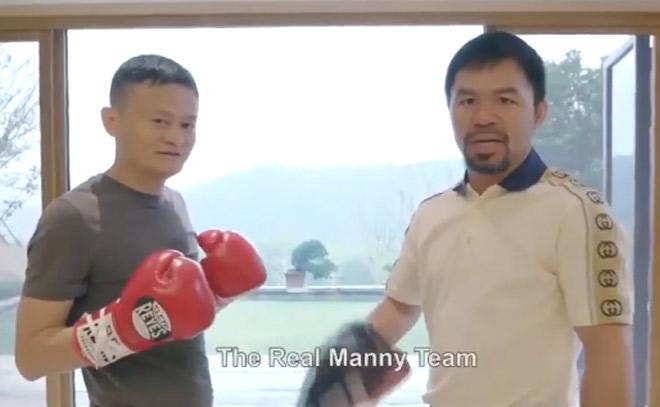 """Tỷ phú Jack Ma """"tuyên chiến"""" Mayweather, Pacquiao tung tin boxing cực nóng - 1"""