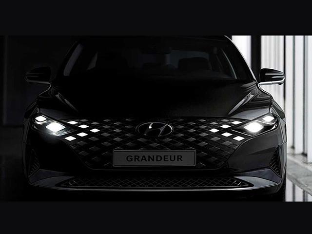 Hyundai Grandeur 2020 lộ diện trước ngày ra mắt với thay đổi mạnh mẽ về ngoại hình