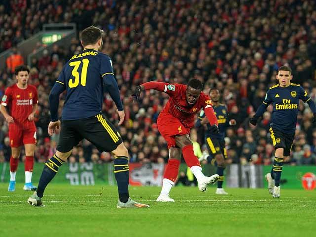 Video highlight trận Liverpool – Arsenal: Rượt đuổi điên rồ 10 bàn, đấu súng định đoạt - 1