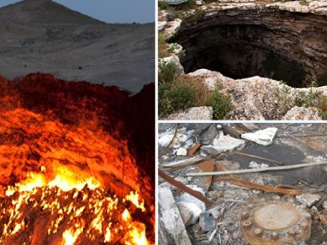 """Những cánh cổng dẫn tới """"địa ngục"""" bí ẩn trên Trái đất"""