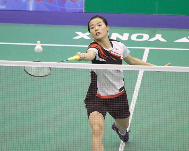 Tuyệt vời: Hot girl cầu lông Việt đại thắng vào chung kết giải quốc tế - 1