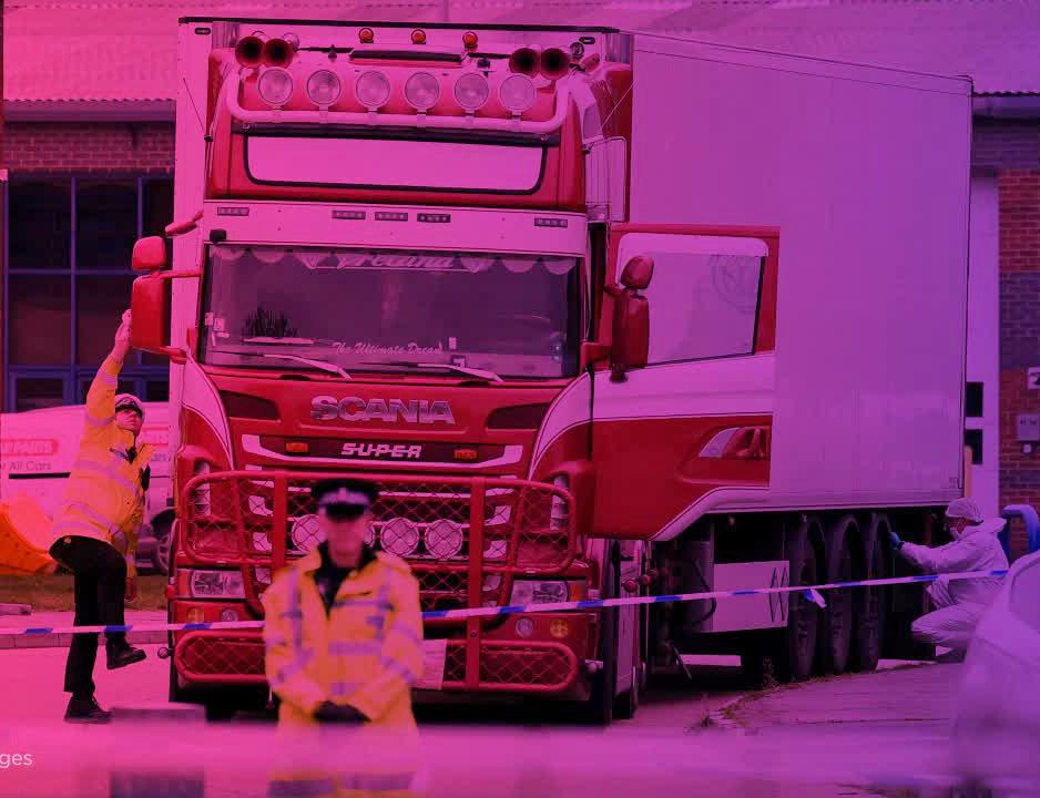 Vụ 39 thi thể ở Anh: Cảnh sát Anh điều tra trường hợp nhiều người bị dọa giết - 1