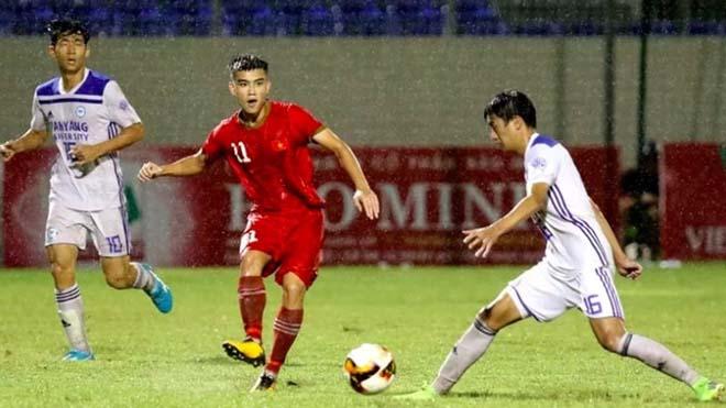 Video highlight trận U21 Việt Nam - U21 sinh viên Nhật Bản: Nghiệt ngã phút 90+3, tái đấu chung kết - 1