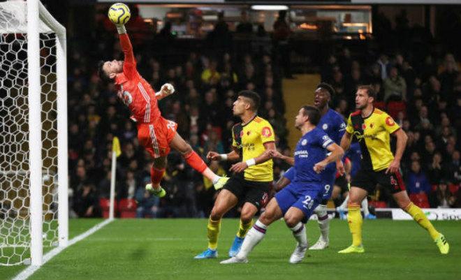 Video highlight trận Watford - Chelsea: VAR thắp hy vọng, phút 90+7 hú vía - 1