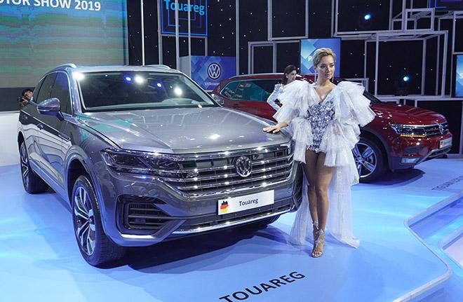 Volkswagen Touareg trưng bày tại VMS 2019 không bị tiêu hủy - 1