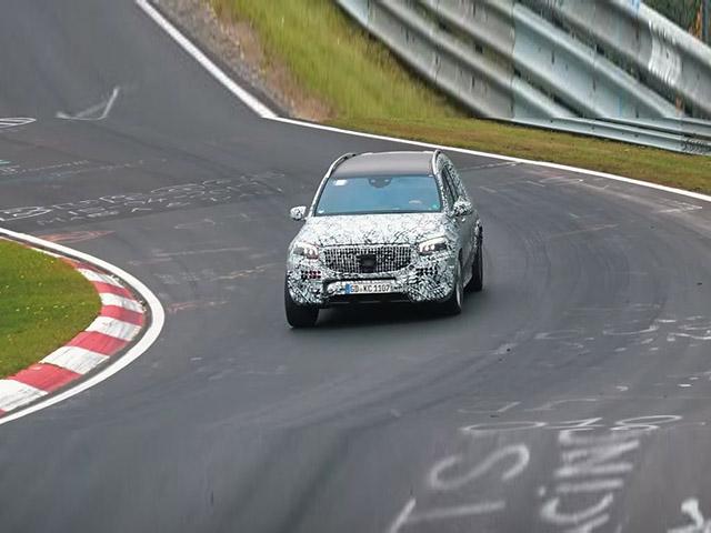 Mercedes-Maybach GLS 2021 chạy thử nghiệm cùng lớp ngụy trang