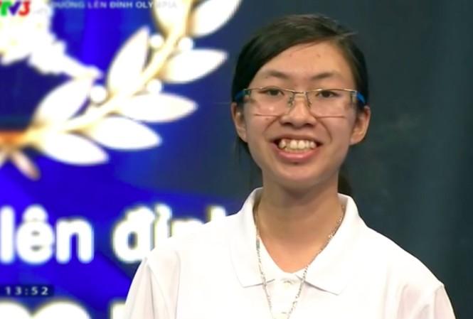 Nữ sinh Ninh Bình bỏ xa đối thủ, giành vé tháng Đường lên đỉnh Olympia - 1