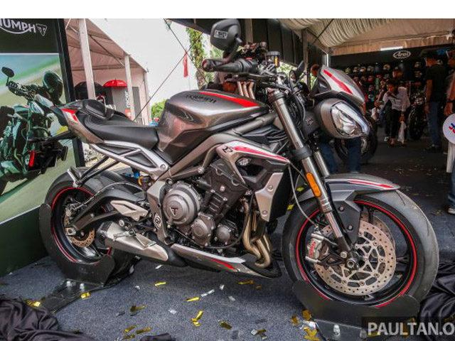 """2020 Triumph Street Triple 765RS ra mắt Đông Nam Á, dân chơi """"phấn khích"""""""