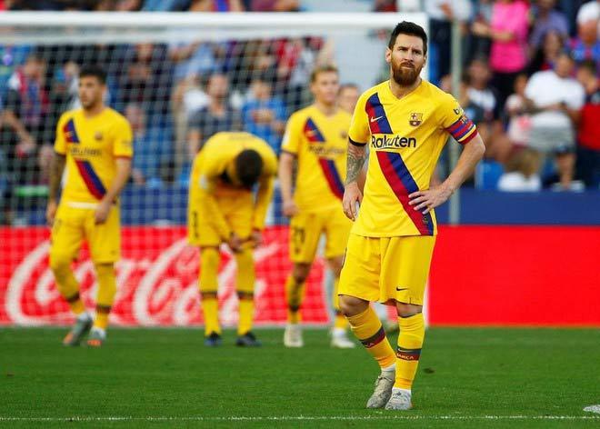 """Barcelona """"hổ"""" sân nhà, """"gà"""" sân khách: Messi cũng bó tay - 1"""