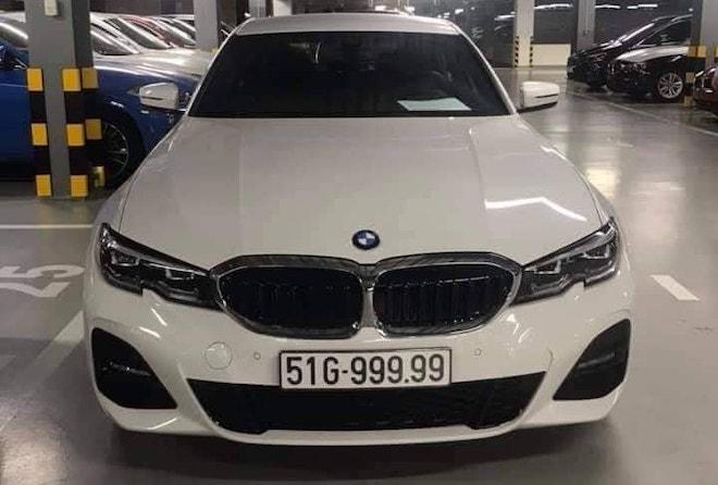 Biển số 'khủng' 51G - 999.99 thuộc về chủ xe BMW 3-Series - 1