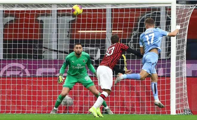 Video highlight trận AC Milan – Lazio: Phản lưới kém may, định đoạt phút 83 - 1
