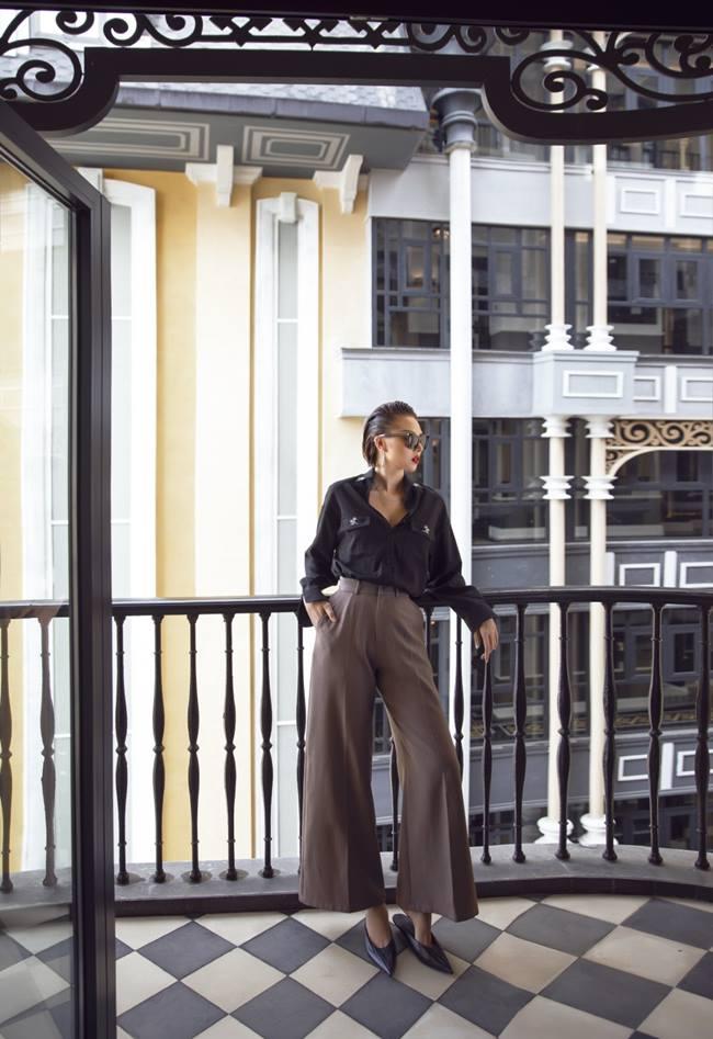 Minh Triệu lên đồ với gam màu trầm cho mùa mốt Thu Đông - 1