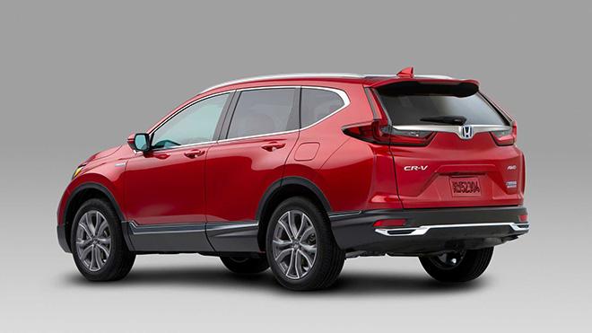 Honda CR-V thế hệ mới nâng cấp nhẹ về thiết kế và tăng giá bán - 4