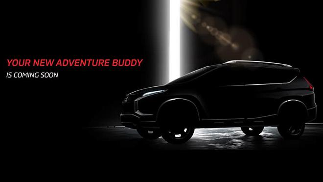 Mitsubishi nhá hàng mẫu SUV mới lấy cảm hứng từ Xpander - 1