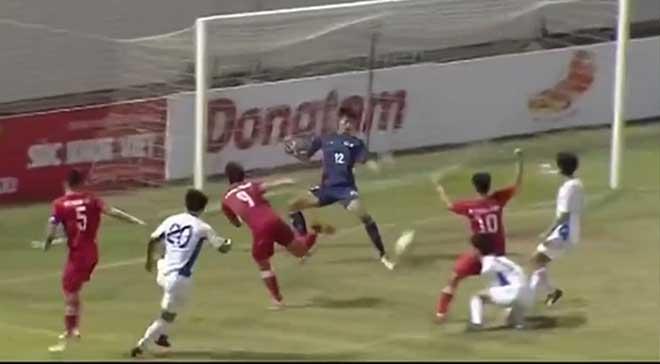 Video highlight trận U21 Việt Nam - U21 Nhật Bản: Hai pha bóng bùng nổ, vỡ òa chức vô địch - 1