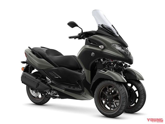"""Lộ thông số kỹ thuật """"quái xế ba bánh"""" Yamaha Tricity 300 2020 - 1"""
